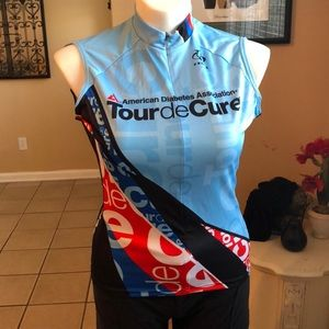 Tour de Cure Cycling Primal XL top shirt